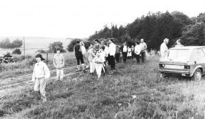 1986 - Trassenbegehung