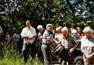 Juni 2007 - Trassenbegehung Hof Werth