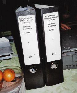 2007 - Eingaben zum Planfeststellungsverfahren