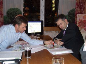 Feb. 2010 - Treffen mit Bm. Wernard