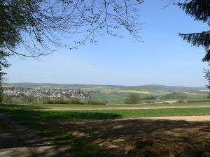 Trassengebiet von Wehrheim nach Usingen